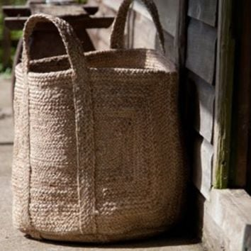 Braided Hemp Basket | Hemp Basket