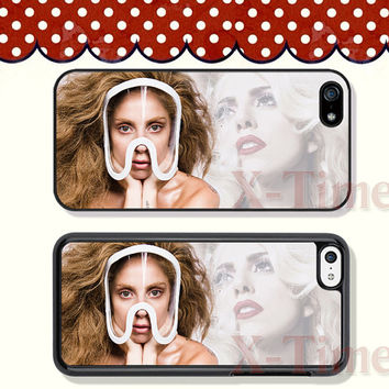 Lady GaGa, iPhone 5 case iPhone 5c case iPhone 5s case iPhone 4 case iPhone 4s case, Samsung Galaxy S3 \S4 Case --X51142