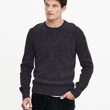 Banana Republic Mens J.C. Rennie & Co. Shetland Wool Sweater Pullover