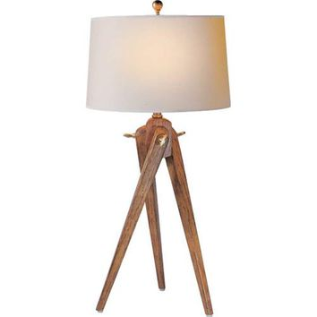Visual Comfort and Company SL3700FW-NP French Wax Tripod Table Lamp