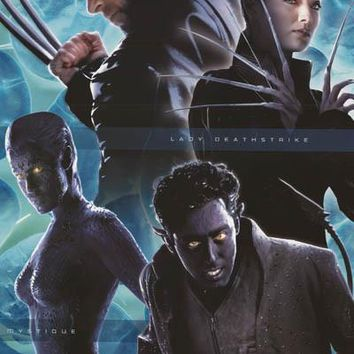 X-Men 2 Movie 2003 Marvel Comics Poster 22x34