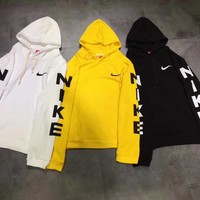 nike fashion hooded fashion top sweater pullover hoodie