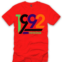 The Fresh I Am Clothing 1992 New Marvin Martian 7's Tee