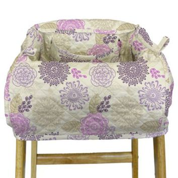 The Peanut Shell® High Chair and Shopping Cart Cover in Dahlia