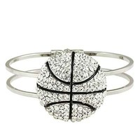 *[B/L]-Bling Baller Basketball Bangle