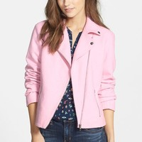 Women's Ace Delivery Asymmetrical Moto Jacket,
