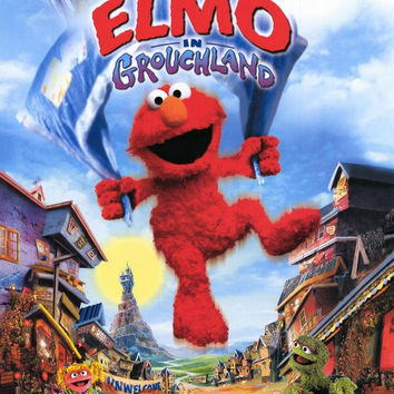 Elmo in Grouchland 11x17 Movie Poster (1999)