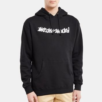 Fucking Awesome Embroidered Logo Inverted Hoodie - MEN - Fucking Awesome - OPENING CEREMONY