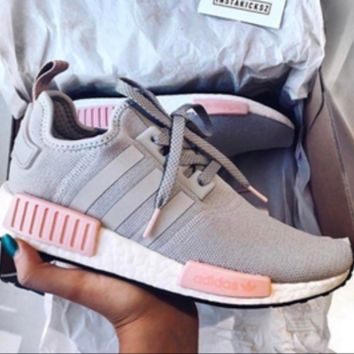 """""""Adidas"""" NMD Women Fashion Trending Running Sports Shoes Sneakers G"""