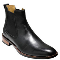 Cole Haan Lenox Hill Chelsea Leather Boots