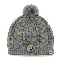 Pittsburgh Steelers 47 Brand Women's Kiowa Cuffless Knit Hat - Official Online Store
