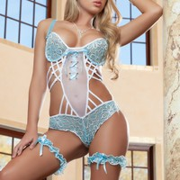 In the Mood Teddy Lingerie Set