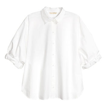 H&M Premium Cotton Shirt $39.99