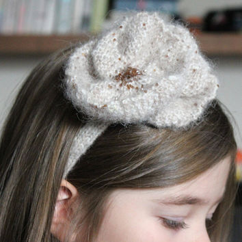 Flower girl headband, Accessories for Girls. Blossom headband, Flower band, Kids headband, Flower hair accessories, Jewelled headband