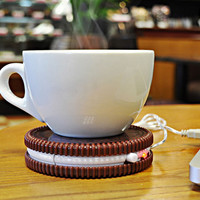 USB Biscuit Heat Preservation Cup Mat