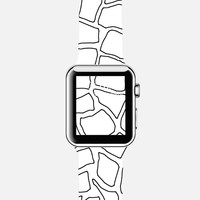 Mosaic Outline Watch Apple Watch case by Project M | Casetify