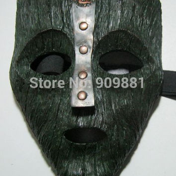 Venetian Mardi Gras Masquerade Loki Mask Replica Movie Props Halloween Adult Full Face Resin Masks Props Cosplaly Gift