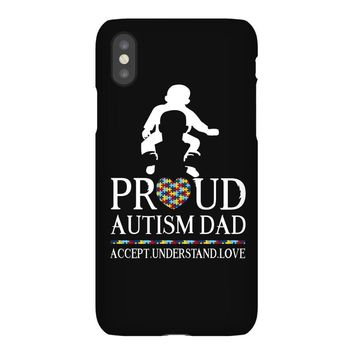 Proud Autism Dad - Autism Awareness Day iPhoneX