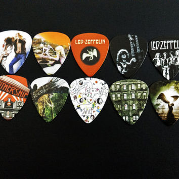 Led Zeppelin Guitar Pick Set (10pcs)