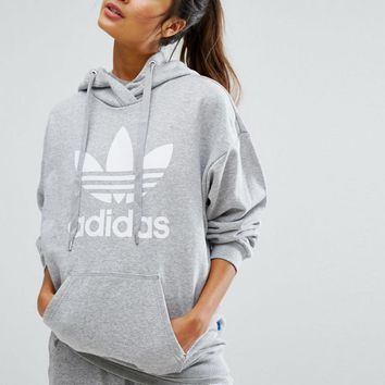 Women Fashion Adidas Hooded Top Sweater Pullover Sweatshirt Hoodie