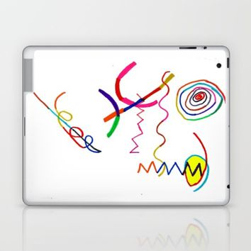Funky Way Doodle Laptop & iPad Skin by Azima