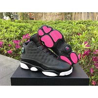Air Jordan 13 Gold/Pink AJ13 Retro Women Basketball Shoes