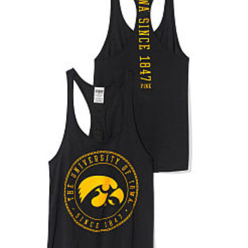 University of Iowa Racerback Tank - PINK - Victoria's Secret