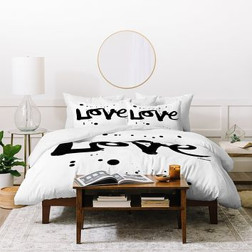 Kal Barteski Love 1 Duvet Cover