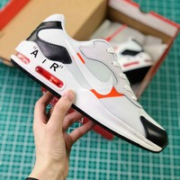 Off White X Nike Air Max 180 White Sport Running Shoes - Best Online Sale