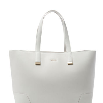 Furla Women's Stacy Large Tote - White