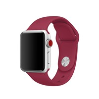 38mm Rose Red Sport Band - S/M & M/L