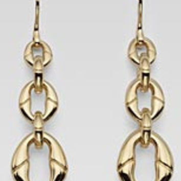 GUCCI Mod. BANBOO Orecchini/Earrings ORO GIALLO/GOLD