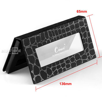 Empty Crocodile Pattern Magnetic Cosmetic Palette Eye Shadow Makeup tools Makeup Tray Box  make up tools