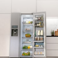Two Door 570L LED Display RH57H90507F Food ShowCase Fridge Freezer – Samsung UK