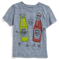 Mighty Fine 'High Five' T-Shirt (Toddler Boys & Little Boys)