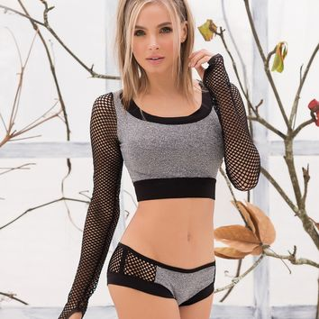 Sporty Boyshort Set