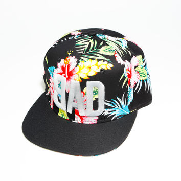BAD Hat | The Kap Slap | All Over Hawaiian Print | Snapback