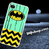 Batman Mint Wood Style - iPhone 4 iPhone 5 Case The Dark Knight