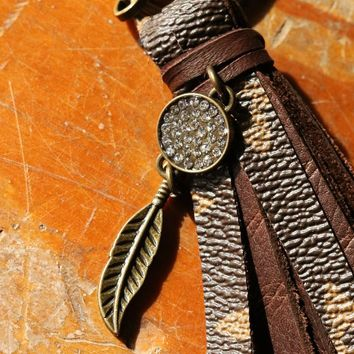 Up Cycled Louis Vuitton Key Chain