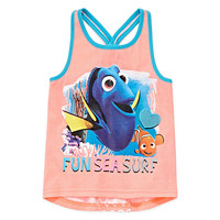 Disney Apparel by Okie Dokie® Finding Dory Knot-Back Tank Top - Preschool Girls 4-6x - JCPenney