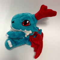 Digimon - Dracomon custom plush to be made