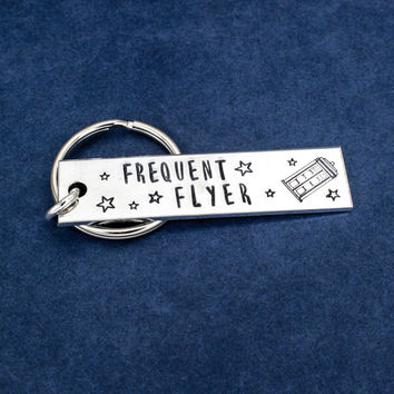 Doctor Who - Frequent Flyer - Tardis - Aluminum Key Chain