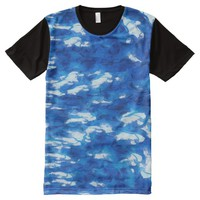 Water All-Over Print T-Shirt