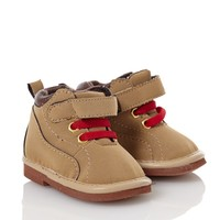 Brown Work Boots 3 12m 310823086 | Childrens Shoes | Clothing | Burlington Coat Factory