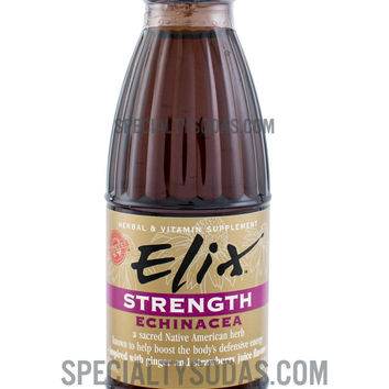Elix Strength with Echinacea 100ml Glass Bottle
