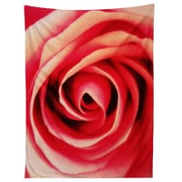 Shannon Clark Pink Rose 2 Tapestry