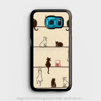 cat hang in Samsung Galaxy S6 Case, Samsung Cases