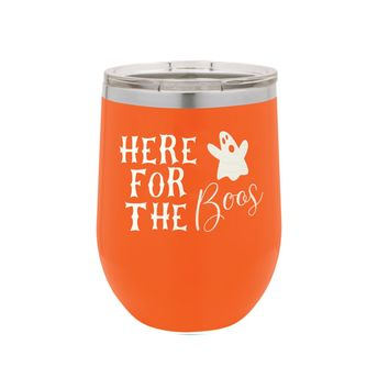 Orange Here For The Boos 12oz Insulated Tumbler