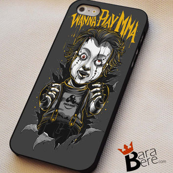 Scary doll iPhone 4s iphone 5 iphone 5s iphone 6 case, Samsung s3 samsung s4 samsung s5 note 3 note 4 case, iPod 4 5 Case