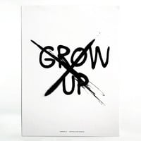 Don't grow up / Print
